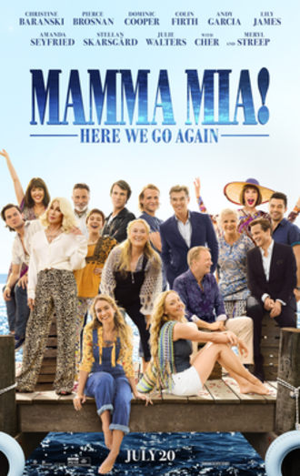 Mamma Mia! Here We Go Again - Theatrical release poster