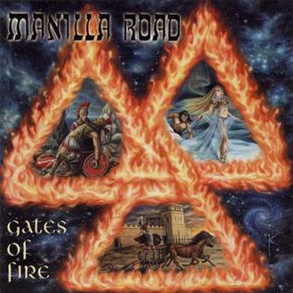 Gates of Fire (album) - Image: Manilla road gates of fire