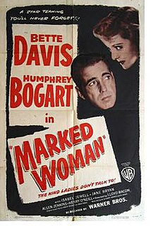 <i>Marked Woman</i> 1937 film directed by Lloyd Bacon