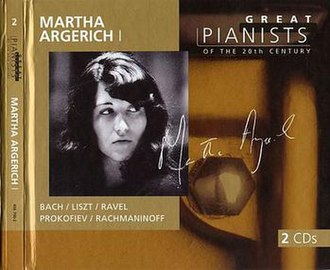 Great Pianists of the 20th Century – Martha Argerich - Image: Martha Argerich 2
