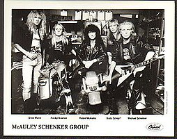 McAuley Schenker Group in 1989