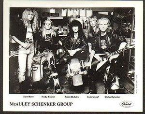 McAuley Schenker Group - McAuley Schenker Group in 1989
