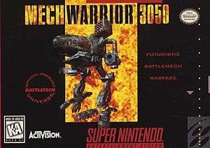 MechWarrior 3050 - North American cover art