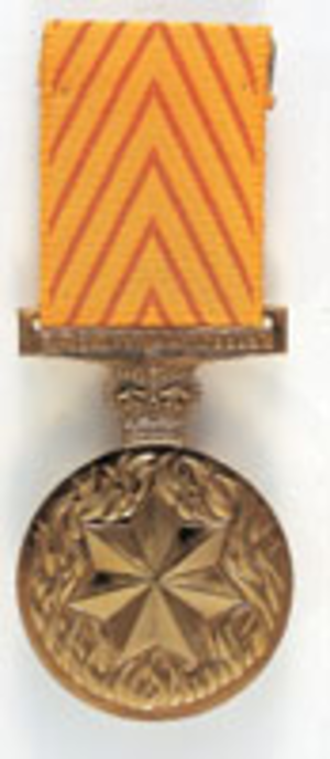 Medal for Gallantry - Image: Medal gallantry aust