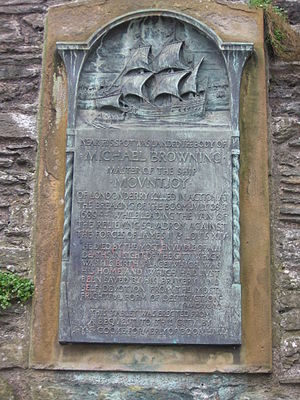 Siege of Derry - The Michael Browning Memorial Plaque