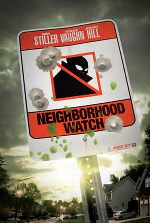 The Watch (2012 film) - Image: Neighborhood Watch Poster