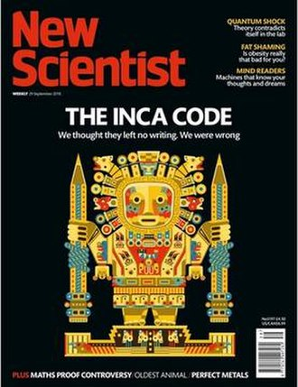 New Scientist - New Scientist cover, issue 3197 dated 29 September 2018