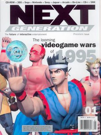 Next Generation (magazine) - The cover of the January '95 issue of Next Generation.
