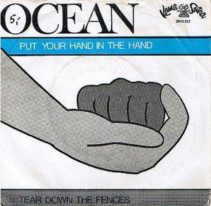 Put Your Hand in the Hand - Image: Ocean Put Your Hand in the Hand single