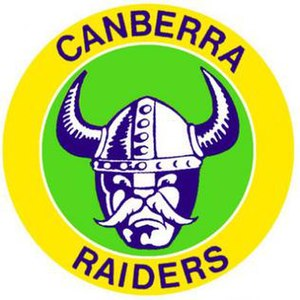 Canberra Raiders - Image: Old Canberra Raiders logo