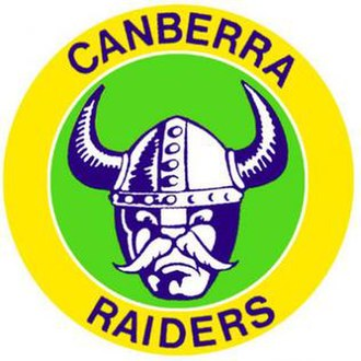 Canberra Raiders - Image: Old Canberra Raiders logo