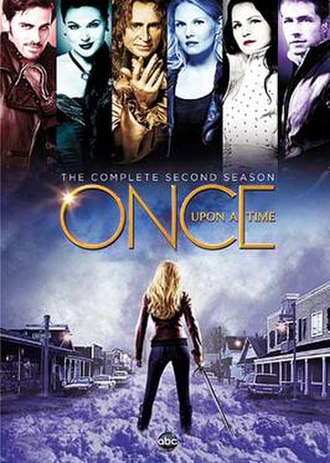 Once Upon a Time (season 2) - DVD cover