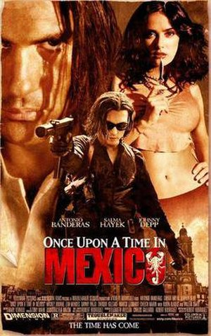 Once Upon a Time in Mexico - Theatrical release poster