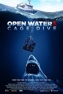 <i>Open Water 3: Cage Dive</i> film