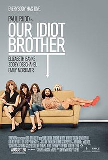 215px-Our_Idiot_Brother_Poster - TB has one - Youtube Replay