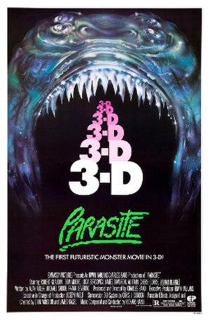 Parasite (film) - Original theatrical poster