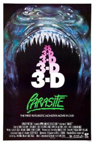 Parasite (1982 film) - Original theatrical poster