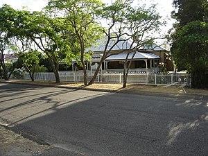 """Goodna, Queensland - """"Penhelyg"""" Queenslander in William St Goodna built in 1896."""