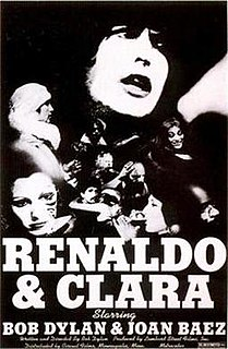 <i>Renaldo and Clara</i> 1978 film by Bob Dylan