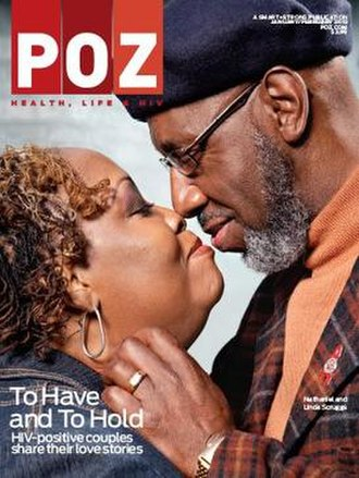 POZ (magazine) - Image: Poz Mag Cover Jan Feb 2013