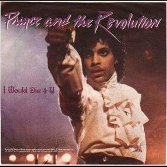 I Would Die 4 U - Image: Prince Die 4U