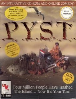 <i>Pyst</i> 1997 video game