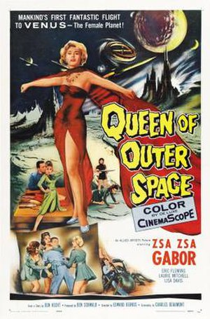 Queen of Outer Space - Theatrical release poster