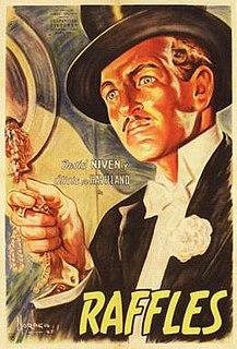 <i>Raffles</i> (1939 film) 1939 film by Sam Wood