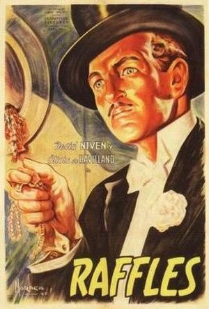 Raffles (1939 film) - Image: Raffles Poster