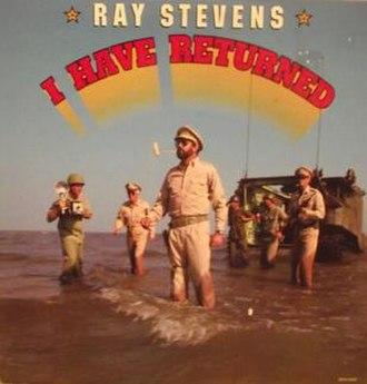I Have Returned - Image: Ray Stevens I Have Returned
