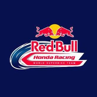 Ten Kate Racing - Image: Red Bull Honda Racing World Superbike Team logo