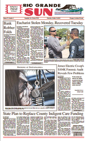 Rio Grande Sun front page 2013 October 10.png