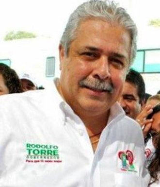 Rodolfo Torre Cantú - Picture of Torre Cantú during his campaign