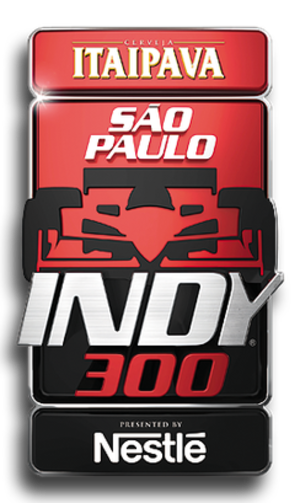 São Paulo Indy 300 - Image: São Paulo Indy 300 logo