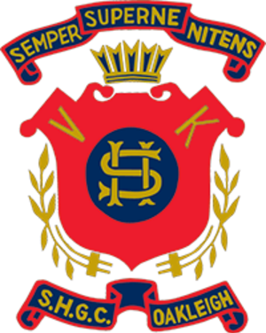 Sacred Heart Girls' College - Image: Sacred Heart Girls' College Logo