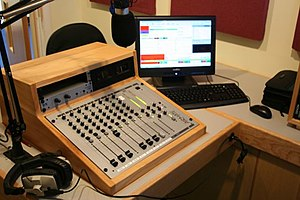 Chamberlayne College for the Arts - Part of the School Radio Station
