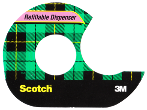 Scotch Tape - Modern Scotch brand acetate tape packaging showing the distinctive tartan design