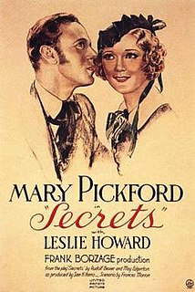 <i>Secrets</i> (1933 film) 1933 Western film by Frank Borzage