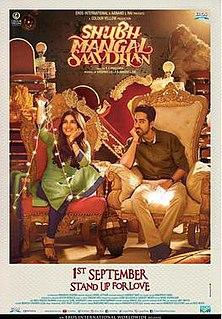 <i>Shubh Mangal Saavdhan</i> 2017 Indian Hindi-language romantic comedy film