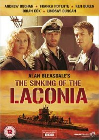 The Sinking of the Laconia - UK DVD cover