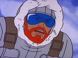 Snow Job (G.I. Joe) - Snow Job as seen in the Sunbow/Marvel G.I. Joe cartoon.