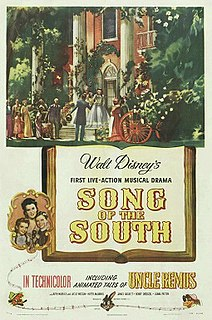 <i>Song of the South</i> 1946 American live-action animated film