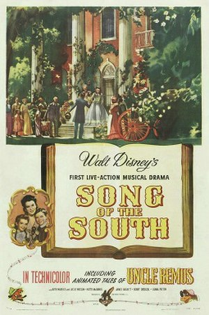 Song of the South - Original theatrical release poster