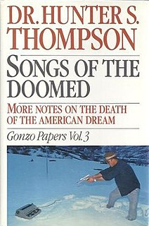 1990 Book by Hunter S. Thompson