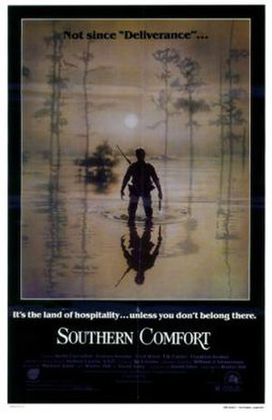 Southern Comfort (1981 film) - Theatrical release poster