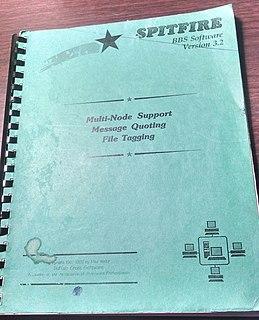 Spitfire (BBS) DOS-Based Bulletin Board System