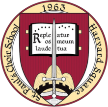 St. Paul's Choir School, Harvard Square seal.png