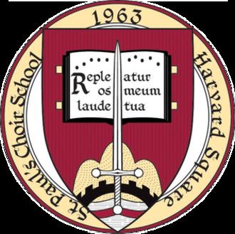 St. Paul's Choir School - Image: St. Paul's Choir School, Harvard Square seal