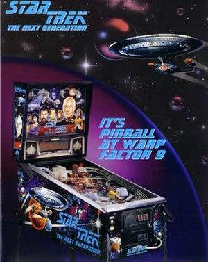 Star Trek: The Next Generation (pinball) - Image: Star Trek TNG pinball