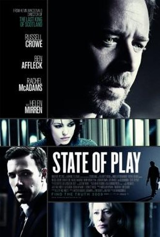 State of Play (film) - Theatrical release poster